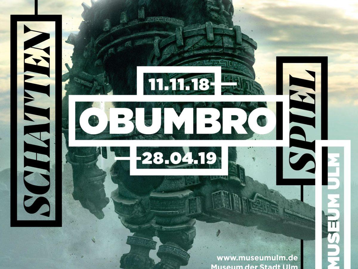 Plakat OBUMBRO SchattenKunst ComputerSpiel